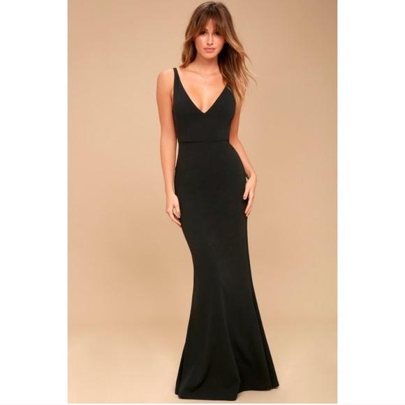 Lulu's Dresses & Skirts - Lulu's Melora Black Sleeveless Maxi Dress